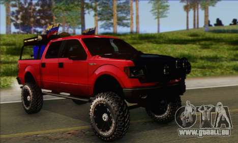 Ford F-150 2012 pour GTA San Andreas