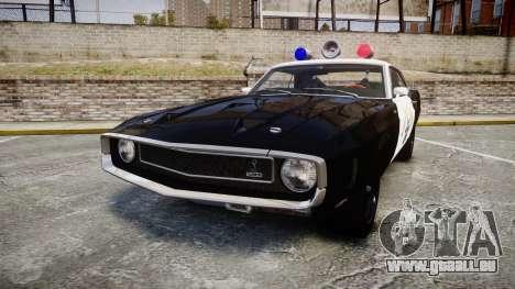 Shelby GT500 428CJ CobraJet 1969 Police pour GTA 4