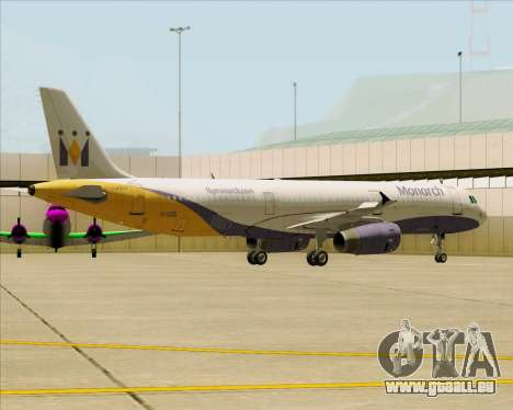 Airbus A321-200 Monarch Airlines pour GTA San Andreas