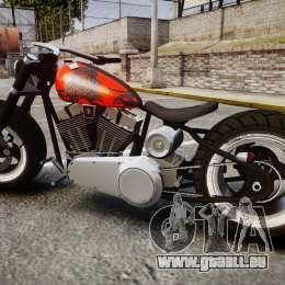 Steel Horse Zombie für GTA 4 linke Ansicht