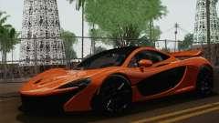 McLaren P1 Black Revel für GTA San Andreas