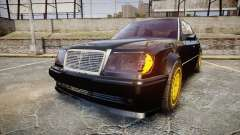 Mercedes-Benz E500 1998 Tuned Wheel Gold pour GTA 4