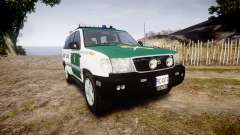 Toyota Land Cruiser Guardia Civil Cops [ELS]