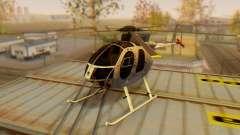 Die MD500E v3 Hubschrauber