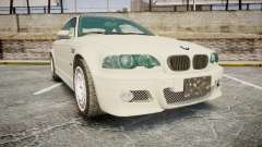BMW M3 E46 2001 Tuned Wheel White pour GTA 4