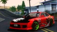 Nissan Silvia S15 Team Drift Monkey pour GTA San Andreas