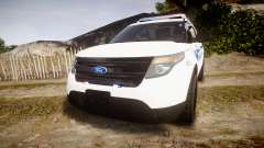 Ford Explorer 2013 PS Police [ELS] für GTA 4