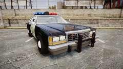 Ford LTD Crown Victoria 1987 Police CHP1 [ELS] pour GTA 4