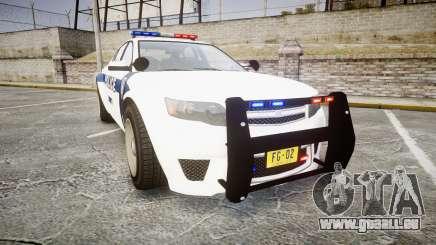 GTA V Cheval Fugitive LS Liberty Police [ELS] für GTA 4