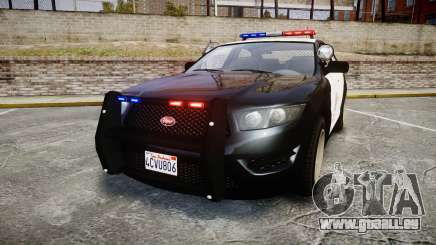 GTA V Vapid Interceptor LSP [ELS] pour GTA 4