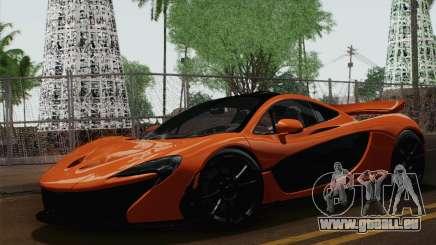 McLaren P1 Black Revel pour GTA San Andreas