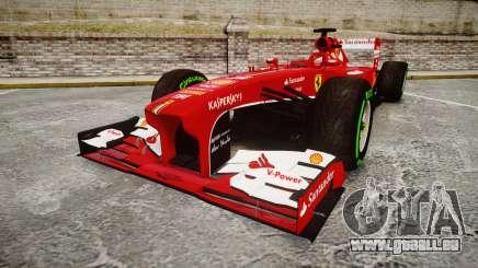 Ferrari F138 v2.0 [RIV] Alonso TIW pour GTA 4