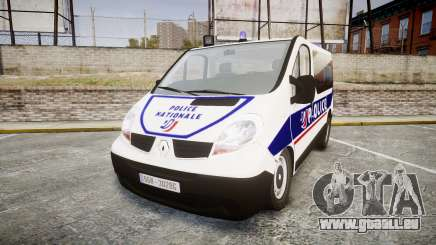 Renault Trafic Police Nationale pour GTA 4