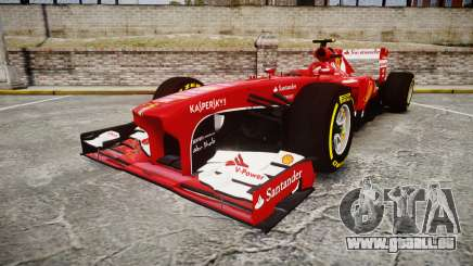 Ferrari F138 v2.0 [RIV] Massa TSD pour GTA 4