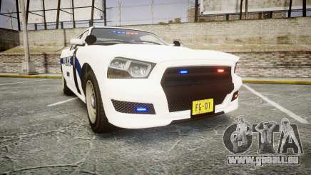 GTA V Bravado Buffalo Liberty Police [ELS] Slick für GTA 4