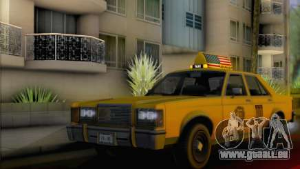 Willard Marbelle Taxi Saints Row Style pour GTA San Andreas
