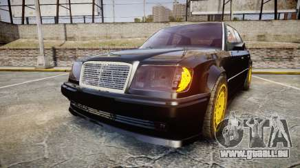 Mercedes-Benz E500 1998 Tuned Wheel Gold für GTA 4