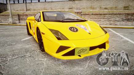 Lamborghini Gallardo 2013 HDD Honoka Kousaka für GTA 4