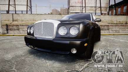 Bentley Arnage T 2005 Rims2 Chrome pour GTA 4