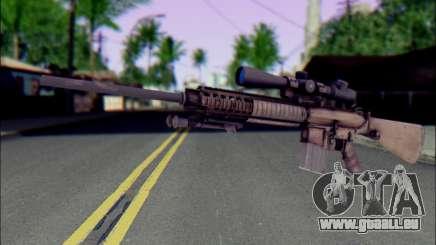M110 mit einem Optischen Visier für GTA San Andreas