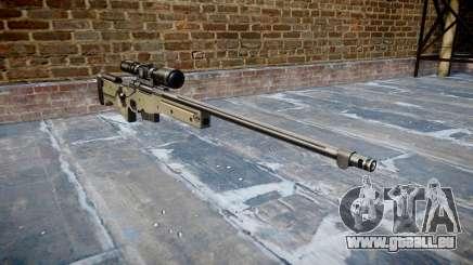 Fusil de Sniper L96A1 Magnum pour GTA 4