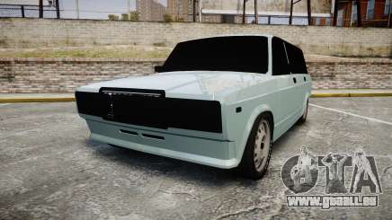 VAZ-2104 hooligan azerbaïdjanais style pour GTA 4