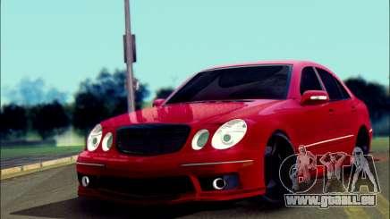 Mercedes-Benz E55 AMG für GTA San Andreas