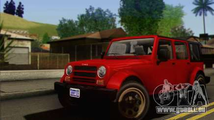 Canis Mesa pour GTA San Andreas