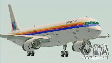 Airbus A321-200 United Airlines pour GTA San Andreas