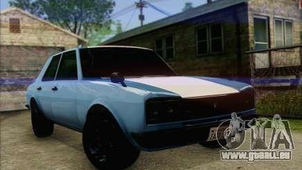 Vulcar Warrener V2 pour GTA San Andreas