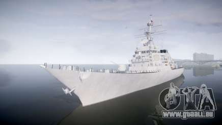 US Navy Destroyer Arleigh Burke pour GTA 4
