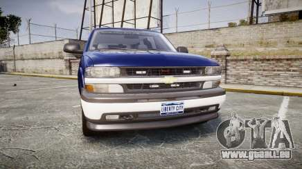 Chevrolet Suburban Undercover 2003 Grey Rims für GTA 4