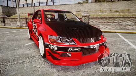 Mitsubishi Lancer Evolution IX Fast and Furious pour GTA 4