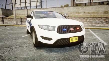 GTA V Vapid Interceptor LP [ELS] Slicktop pour GTA 4
