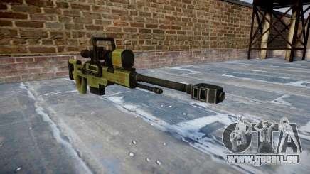 Gros calibre fusil de sniper pour GTA 4