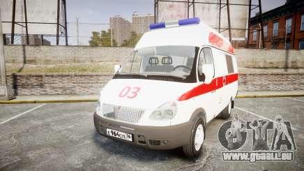 GAZ-32214 Ambulance pour GTA 4