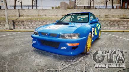 Subaru Impreza WRC 1998 World Rally v3.0 Green für GTA 4