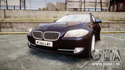 BMW 530d F11 Unmarked Police [ELS] pour GTA 4
