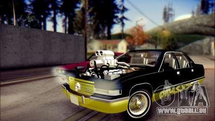 Cadillac Fleetwood 1993 Lowrider pour GTA San Andreas