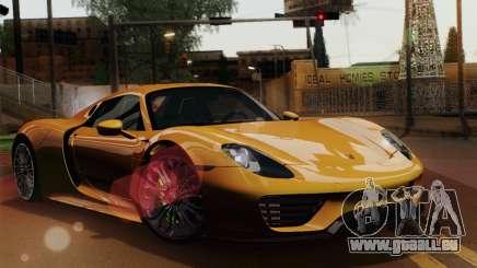 Porsche 918 Spyder 2013 pour GTA San Andreas