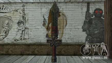 Sword from World of Warcraft pour GTA San Andreas