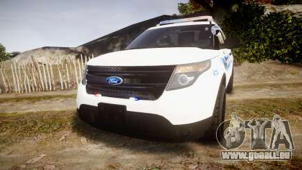 Ford Explorer 2013 PS Police [ELS] pour GTA 4
