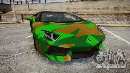 Lamborghini Aventador LP760-4 Camo Edition für GTA 4