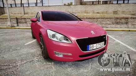Peugeot 508 v1.2 pour GTA 4