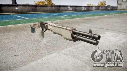 Ружье Franchi SPAS-12 Choco für GTA 4