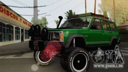 Jeep Cherokee 1998 Off Road 4x4 pour GTA San Andreas