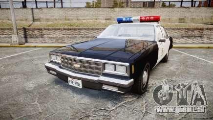 Chevrolet Impala 1985 LAPD [ELS] für GTA 4