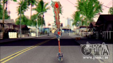 Меч (World Of Warcraft) v2 pour GTA San Andreas