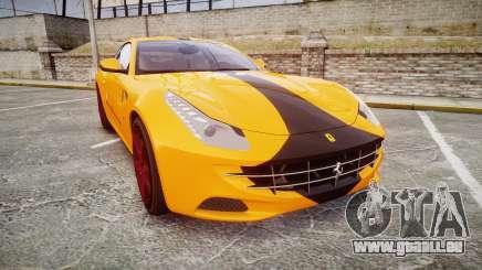 Ferrari FF 2012 Pininfarina Yellow pour GTA 4