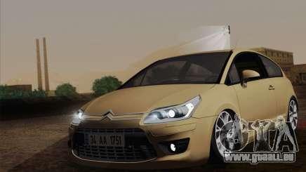 Citroen C4 VTS 2010 pour GTA San Andreas